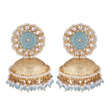 Karvi Jhumka Earrings