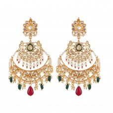Double chand multi earrings