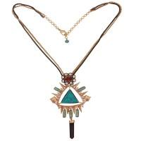 Turquoise triangle obelisk