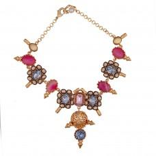 Pink Fleur necklace