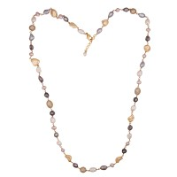 Small multi shell pearl chain
