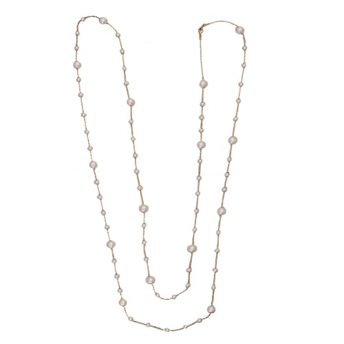 Gloria pearl Chain gold
