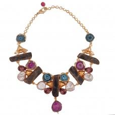 Statement Quartz necklace
