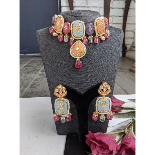 Abha necklace set