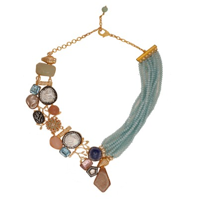 Aria statement necklace