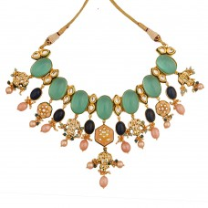 Amira Flourite Green Necklace
