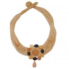 Ocean Jute Necklace