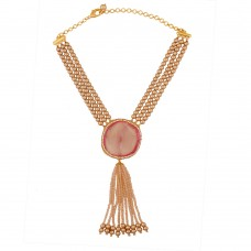 Lily Pink Necklace
