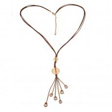 Elegant Leather Necklace