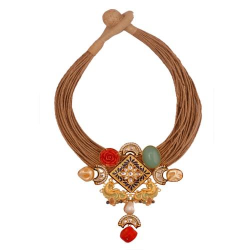 Aahana Jute Necklace