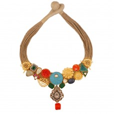 Aadhya Jute necklace