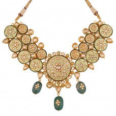 Apsara Meenakari Necklace