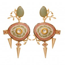 Meenakari delight earrings