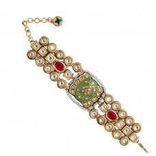 Pallav bracelet green