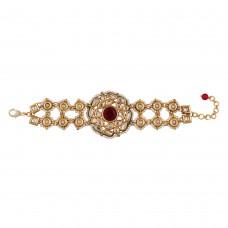 Mughal bracelet red
