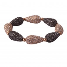 Drop shaped bracelet