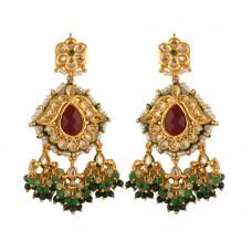 Kaira Kundan Earrings