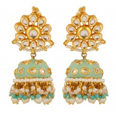 Kiara Mint Green Earrings