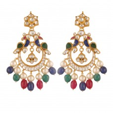 Adhya Peacock Earrings