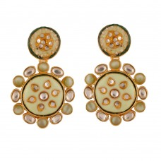 Aarvi Kundan Earrings