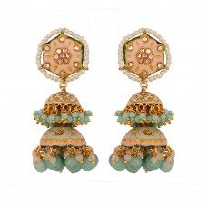 Aaria Meenakari Earrings