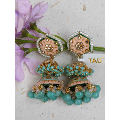 Aaria Meenakari Earrings
